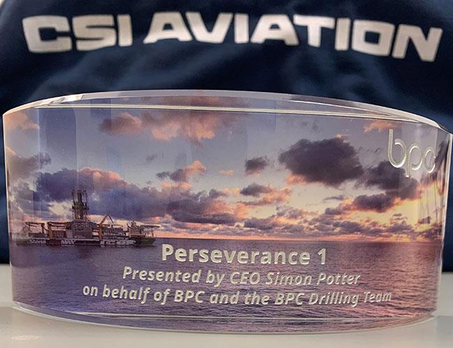 Bahamas Petroleum Company Award