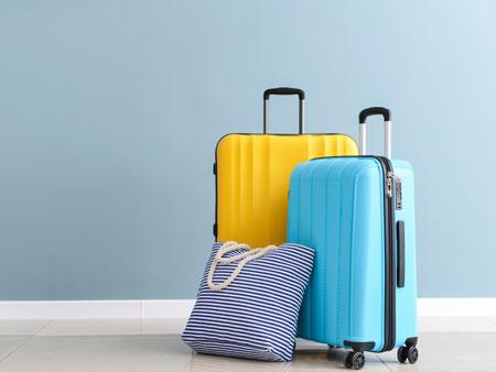 Bahamas Wedding Luggage